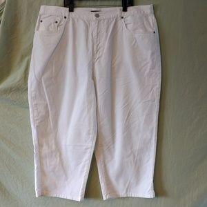 Ralph Lauren white capris